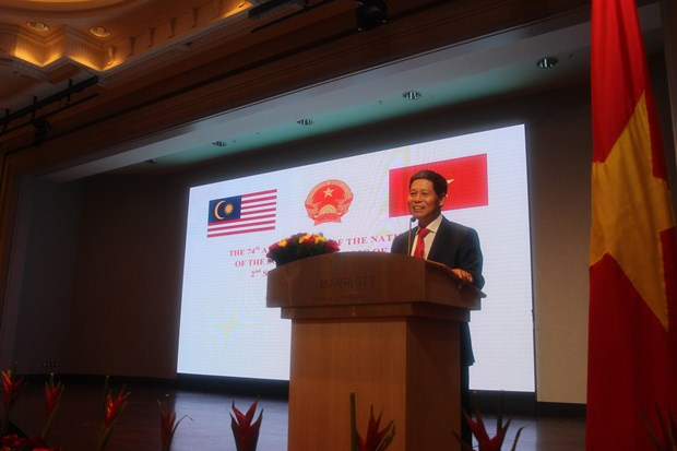 Vietnam's National Day marked in Malaysia hinh anh 1