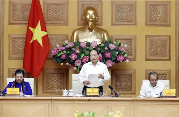 PM hails draft socio-economic strategy for 2021-2030 hinh anh 1