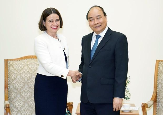 PM Nguyen Xuan Phuc welcomes new Australian ambassador hinh anh 1