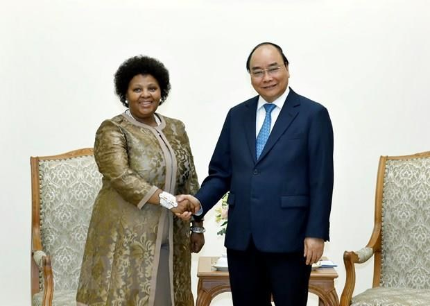 PM: Vietnam treasures relations with South Africa hinh anh 1