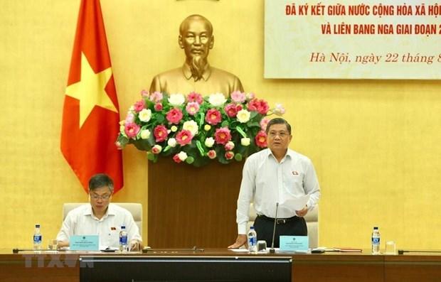 Seminar looks into progress of Vietnam-Russia int'l treaties hinh anh 1