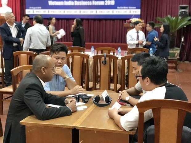 Vietnamese, Indian firms discuss trade, investment hinh anh 1