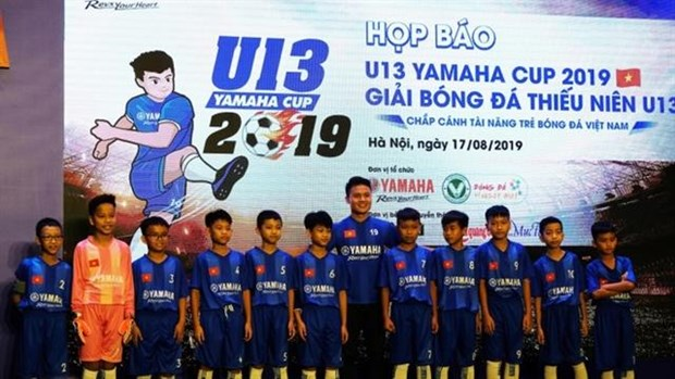 Yamaha Cup returns to seek young football talents hinh anh 1