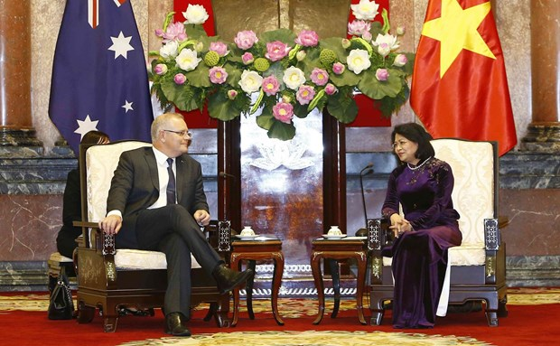 Australian PM calls Vietnam a key strategic partner in ASEAN hinh anh 1