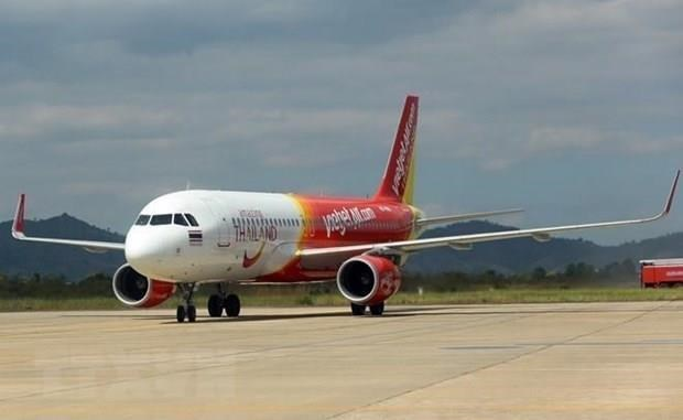 Vietjet cancels two flights to Taiwan due to tropical storm hinh anh 1
