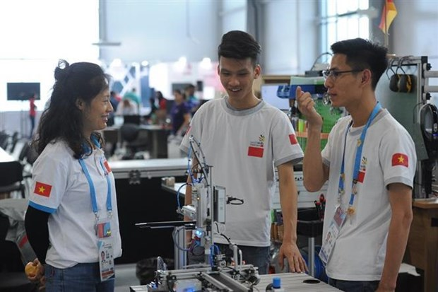Vietnam competes in 45th World Skills Competition hinh anh 1