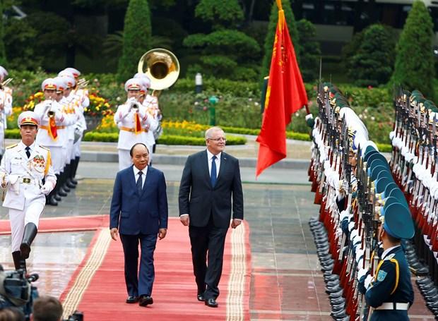 Australian Prime Minister wraps up Vietnam visit hinh anh 1