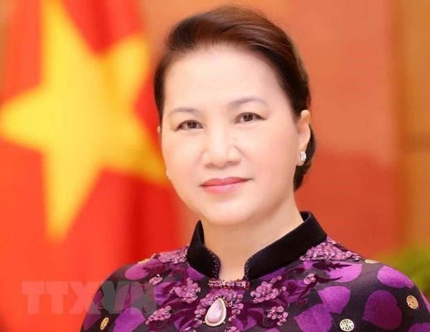 NA Chairwoman heads to AIPA General Assembly hinh anh 1