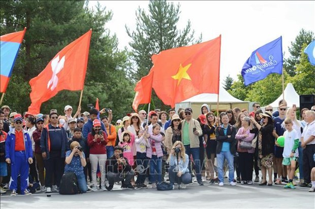 Vietnam joins Summer Diplomatic Games in Russia hinh anh 1