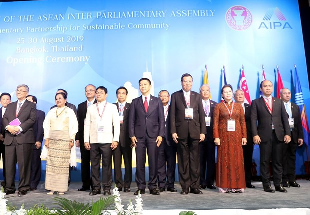40th AIPA General Assembly opens in Thailand hinh anh 1