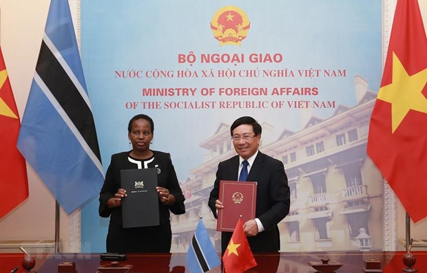 Deputy PM, Botswana Foreign Minister hold talks hinh anh 1