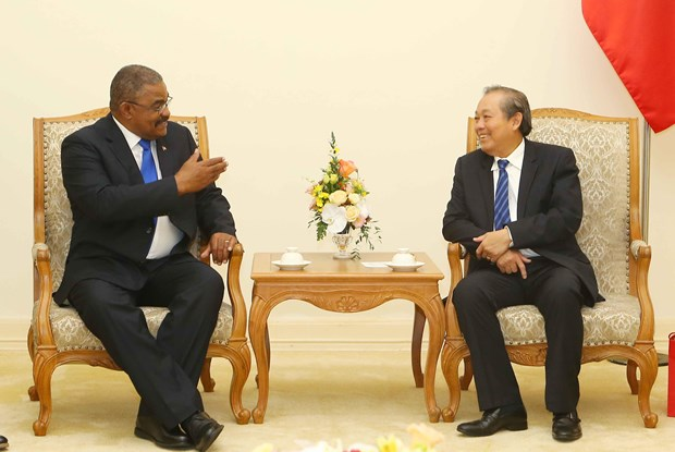 Deputy PM receives President of Cuban Supreme Court hinh anh 1