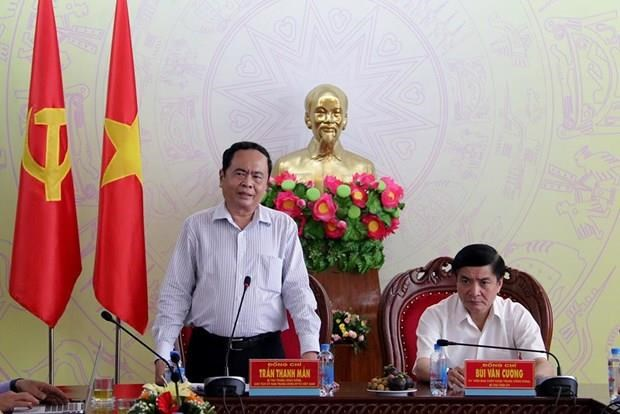 Front leader visits flood victims in Dak Lak province hinh anh 1