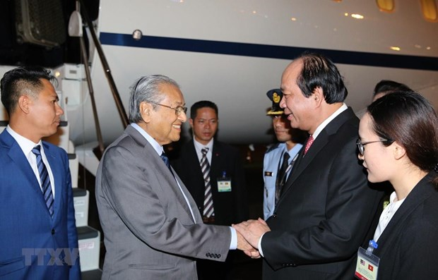 Malaysian Prime Minister begins official visit to Vietnam hinh anh 1