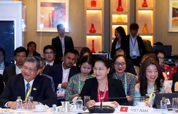 NA Chairwoman attends meeting of AIPA 40 executive committee hinh anh 1