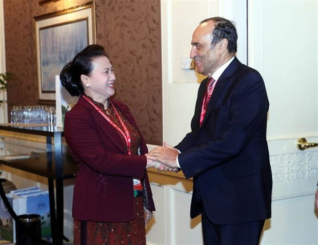 Vietnam treasures friendship, cooperation with Morocco: NA Chairwoman hinh anh 1