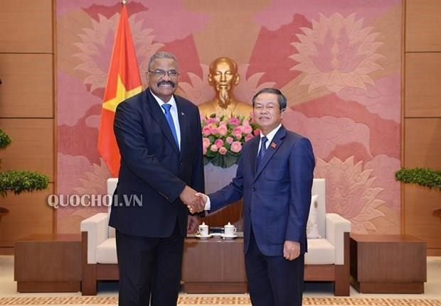 NA Vice Chairman receives Cuban court leader hinh anh 1