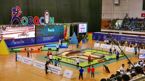 Vietnam finishes third at 2019 ABU Robocon in Mongolia hinh anh 1