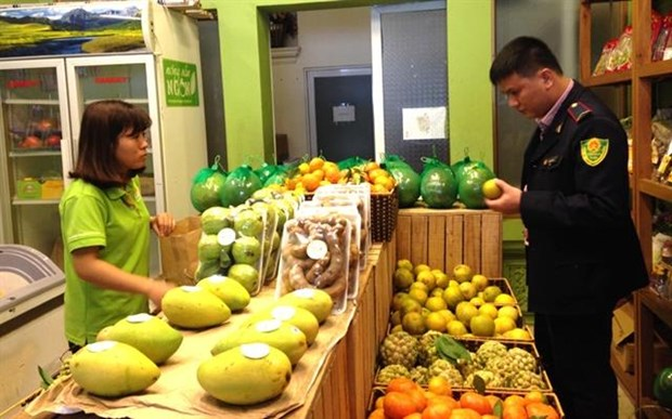Management of fresh fruit stores sees marked improvement hinh anh 1
