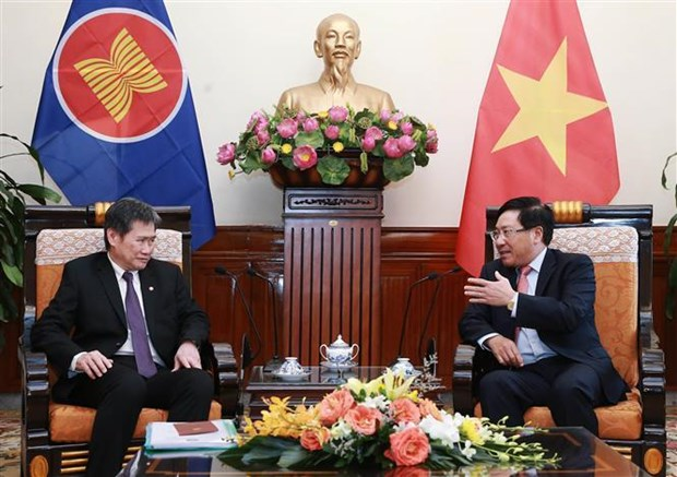 ASEAN should maintain unity, central role: Deputy PM hinh anh 1