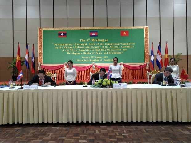 CLV parliamentary committees agree to boost cooperation hinh anh 1