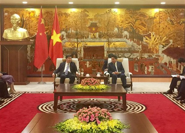 Hanoi expands cooperation with China's Guangdong province hinh anh 1