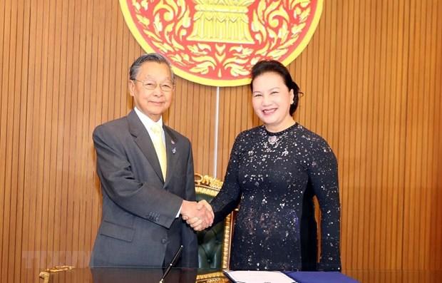 Vietnam values strategic partnership with Thailand: NA leader hinh anh 1