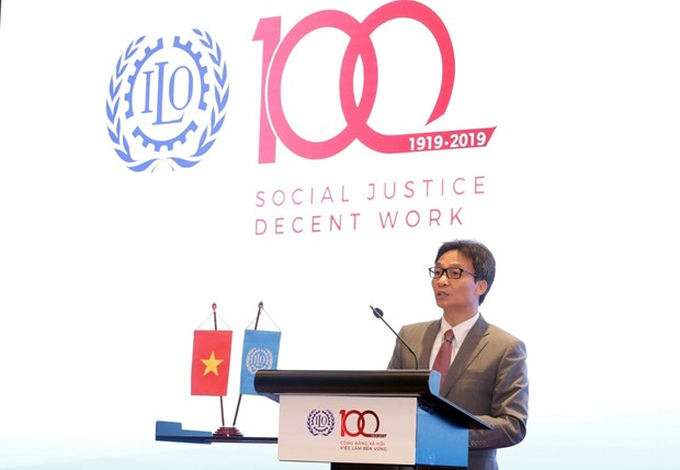 Centenary of International Labour Organisation marked in Hanoi hinh anh 1