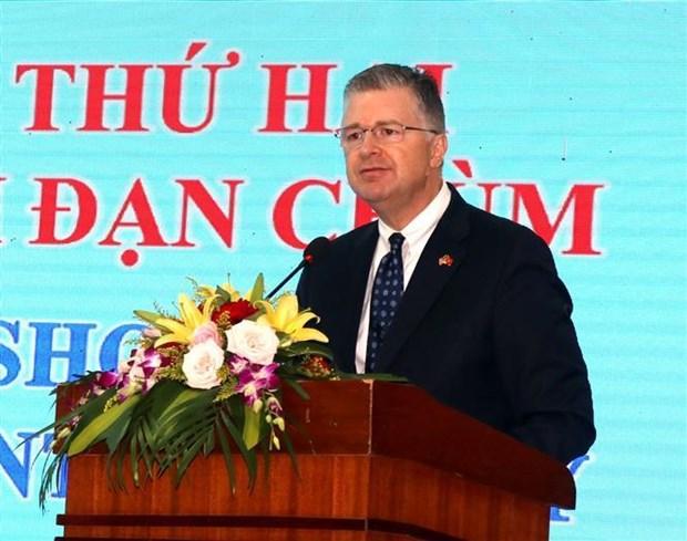Workshop discusses cluster munitions remnants survey hinh anh 1