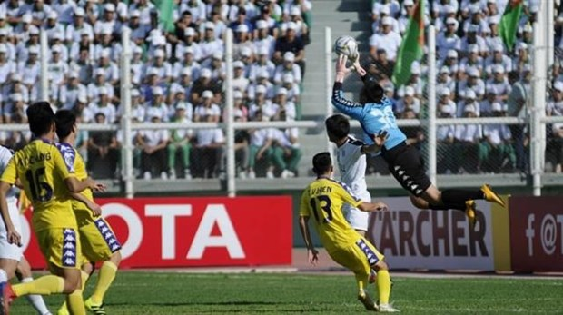Hanoi seal berth at AFC Cup Inter-Zone finals hinh anh 1