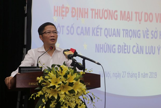 EVFTA to boost intellectual property in Vietnam hinh anh 1