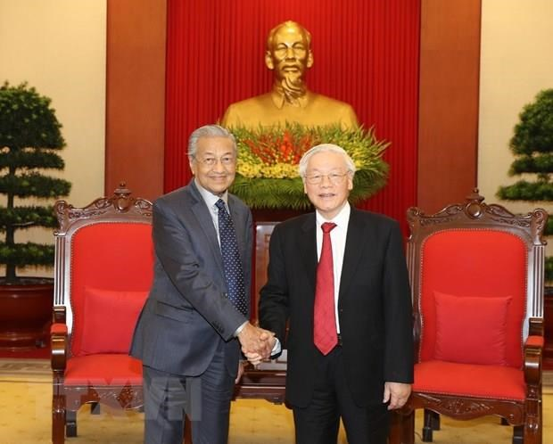 Party leader-President receives Malaysian Prime Minister hinh anh 1