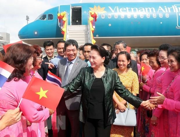 NA Chairwoman visits Thailand's Udon Thani province hinh anh 1