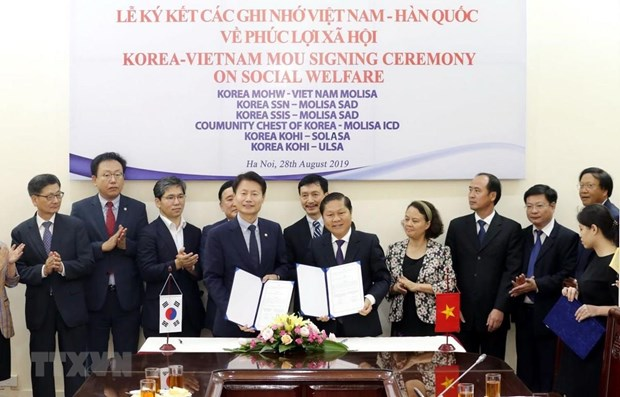 Vietnam, RoK beef up collaboration in social welfare hinh anh 1
