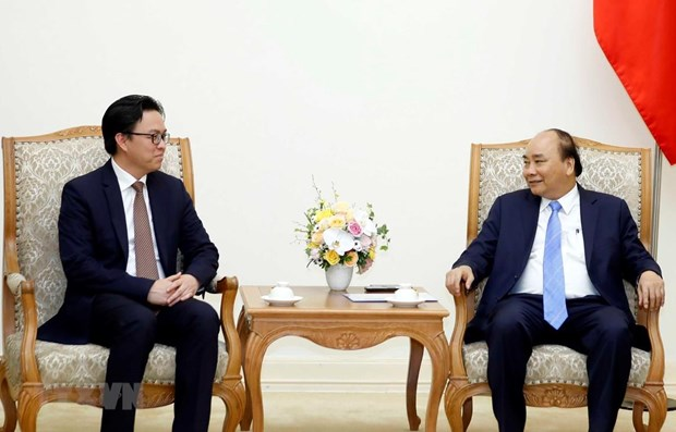 PM hosts outgoing Cambodian Ambassador hinh anh 1