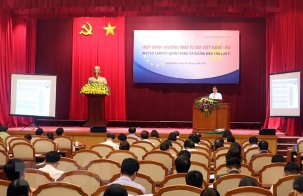 Conference popularises Vietnam's EVFTA commitments hinh anh 1
