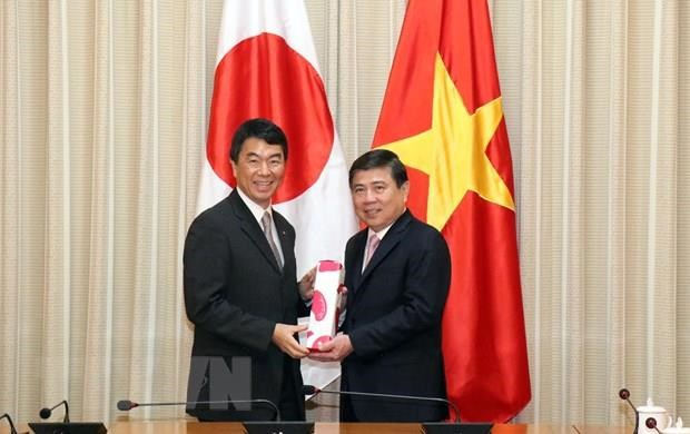 HCM City, Japan's Miyagi prefecture seek ways to deepen partnership hinh anh 1