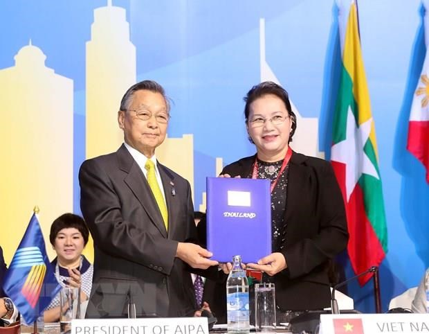 NA Chairwoman concludes Thailand trip hinh anh 1