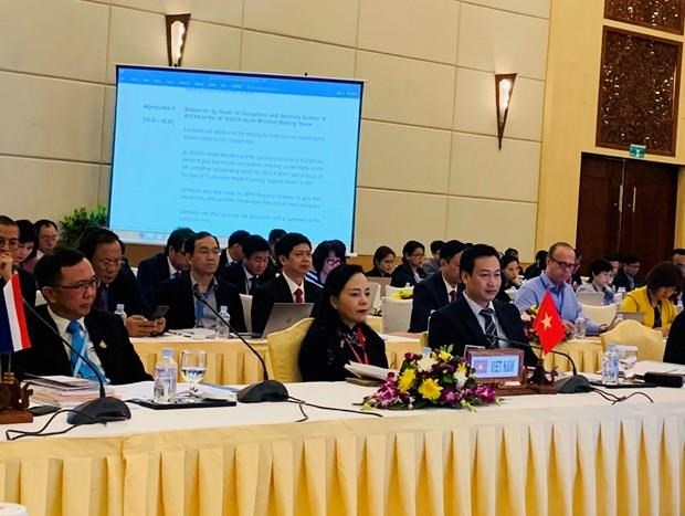 Vietnam attends 14th ASEAN Health Ministers' Meeting hinh anh 1