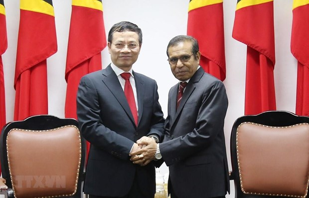 Vietnam, Timor Leste look to promote relations hinh anh 1