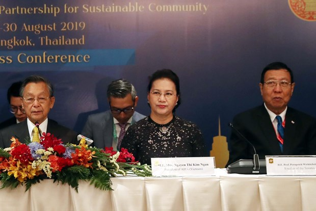 Vietnam to work hard for successful AIPA 41 next year: NA Chairwoman hinh anh 1