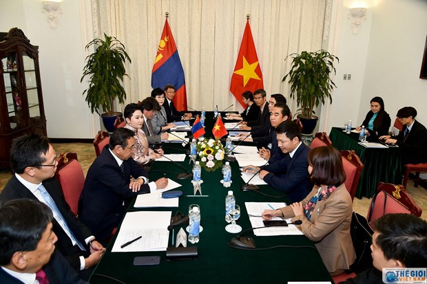 Vietnam, Mongolia hold eighth political consultation hinh anh 1