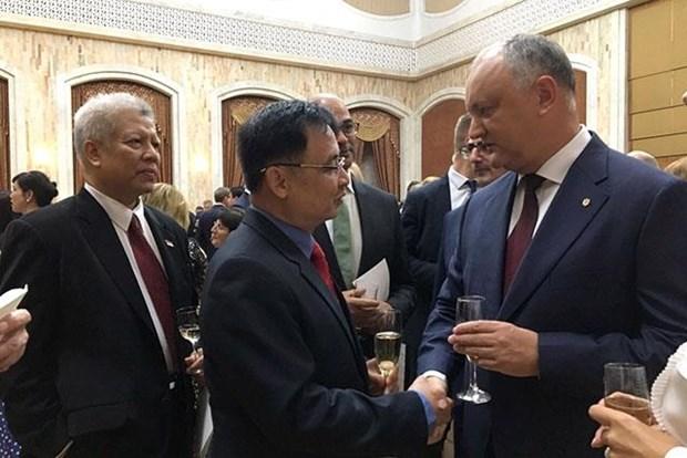 Vietnam enhances relations with Moldova hinh anh 1