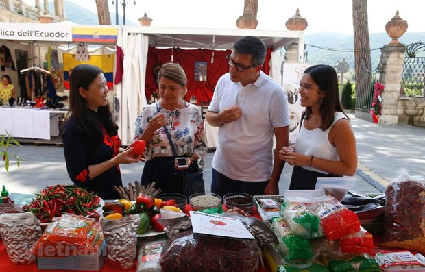 Vietnamese spices introduced in Italy hinh anh 1