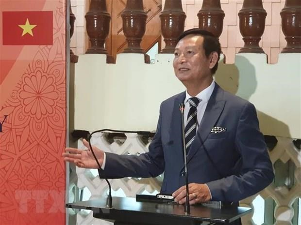 Vietnamese Embassy in Egypt celebrates ASEAN's anniversary hinh anh 1