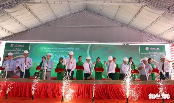 Waste-to-energy plant built in Ho Chi Minh City hinh anh 1