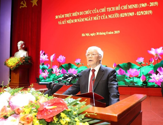 National ceremony marks 50 years implementing late President's testament hinh anh 1