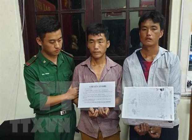 Dien Bien: Two men caught carrying 20,000 meth pills hinh anh 1