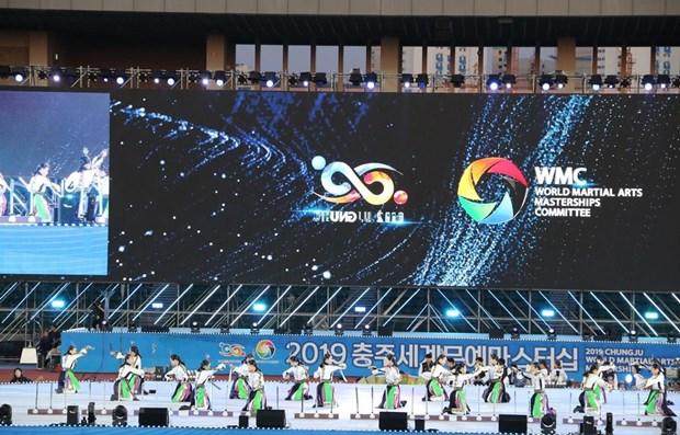 Vietnam competes at Chungju World Martial Arts Masterships hinh anh 1
