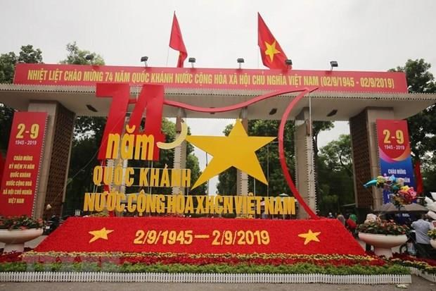 Foreign leaders congratulate Vietnam on National Day hinh anh 1